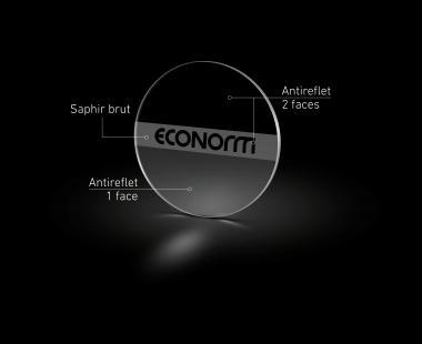 Antireflex 2 Seitig - die Sublimation der Uhr
