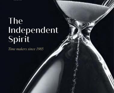 The Independent Spirit , 35ème anniversaire de l'AHCI (Académie Horlogère des Créateurs Indépendants)