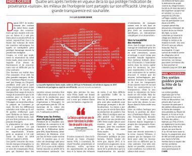 PRESS - La montre Swiss Made est-elle assez authentique?